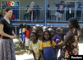 Australia Links School Attendance with Aboriginal Aid