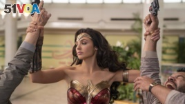 FILE - This image released by Warner Bros. Entertainment shows Gal Gadot in a scene from