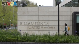 This Friday, April 27, 2018 photo shows the headquarters of the Bill and Melinda Gates Foundation in Seattle, Washington, USA. (AP Photo/Ted S. Warren)