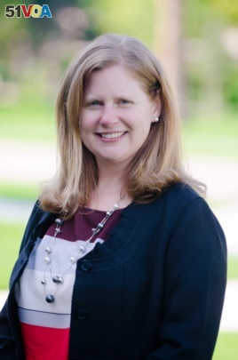 Becky Konowicz, assistant dean of undergraduate admission at Santa Clara University.