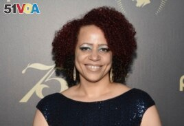 In this Saturday, May 21, 2016, file photo, Nikole Hannah-Jones attends the 75th Annual Peabody Awards Ceremony at Cipriani Wall Street in New York. (Photo by Evan Agostini/Invision/AP, File)
