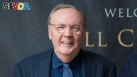 FILE - Author James Patterson donated $1.5 million to Scholastic Book Clubs to launch