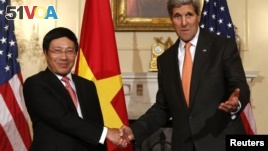 US Eases Ban on Lethal Weapons to Vietnam