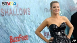Blake Lively attends the world premiere of