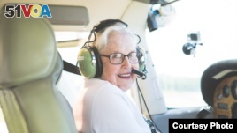 91-Year-Old Achieves Dream, Learns To Fly
