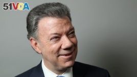 Colombian President Juan Manuel Santos received the 2016 Nobel Peace Prize (Reuters).