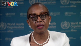 Dr. Matshidiso Moeti, the World Health Organization regional director for Africa, appealed to wealthier countries to donate COVID-19 vaccine to the continent, June 24, 2021. (Photo courtesy of WHO)