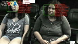 U.S.-based SilverLogic Labs conducts a test with lie detection technology that has also been used by the entertainment industry to test reactions of people watching movies and television. (Reuters)