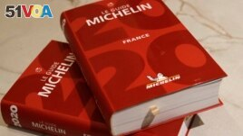 The Michelin guide lists some of the best restaurants in the world. (AP Photo/Christophe Ena)