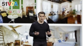 Airbnb co-founder and CEO Brian Chesky speaks during an event Thursday, Feb. 22, 2018, in San Francisco. (AP Photo/Eric Risberg)