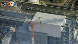 Reactor number 4 at the Fukushima nuclear power center. Officials have spent more than six years trying to contain the damaged area.