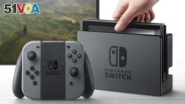 The new Nintendo Switch gaming device was announced on Thursday.