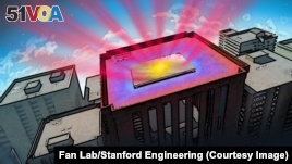 High-Tech Material Cools Buildings by Sending Heat Into Space
