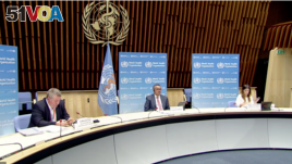 Press briefing on Pandemic Treaty with WHO general director Dr Tedros and European council president Charles Michel on Mar. 30, 2021.