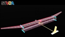 Pictured is a general blueprint for an MIT plane propelled by ionic wind. The system is likely to be used first to power small drones or lightweight aircraft. (MIT Electric Aircraft Initiative)