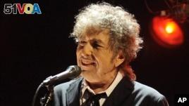 American singer Bob Dylan won the Nobel Prize for Literature on Thursday.