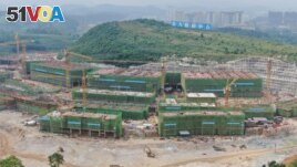 FILE - Huawei Technology Co's new data center is seen under construction in China's Guizhou province May 14, 2019. China is looking to the ocean to help reduce the cost of cooling data centers that use powerful computers and servers. (REUTERS)
