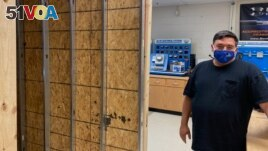 Joseph Wolfe teaches electrical work, construction and engineering at Edison Academy, a career training high school in Fairfax County, Virginia.