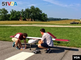 Researchers at Virginia Tech Test Drones for FAA Rules