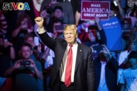 Donald Trump at Ohio rally.