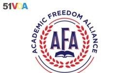 Academic Freedom Alliance logo.