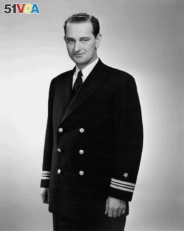 Johnson also briefly served in the Navy during World War II.