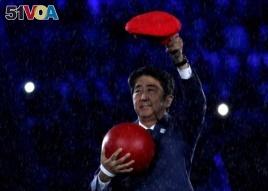 2016 Rio Olympics-Japanese Prime Minister Shinzo Abe