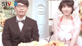 Yui Akagaki and Gen Hoshino in a television scene published May 19, 2021 on Aragaki Yui Fanspage on Instagram.