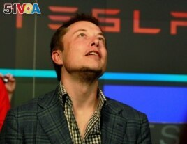 CEO of Tesla Motors Elon Musk
