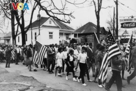 In early 1965, civil rights activists tried to register black voters around Selma, Alabama. Their actions led to violence and helped inspire Johnson to push for additional civil rights laws.