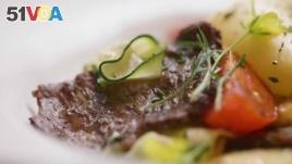 Aleph Farms, an Israeli company based in Tel Aviv, announced it has created the world's first steak grown in a laboratory. (Photo: Aleph Farms)