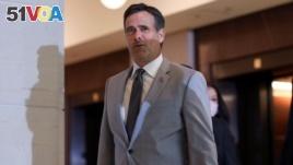 FILE - Director of National Intelligence John Ratcliffe in Washington, July 2, 2020.