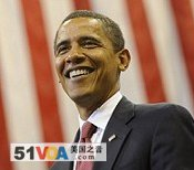 Democratic presidential candidate Sen. Barack Obama speaks during a rally in Jacksonville, Florida, 3 Nov. 2008