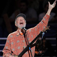 Pete Seeger at his 90th birthday celebration