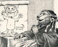 A Sendak drawing for