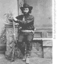 Ed Schieffelin in Tombstone in 1880