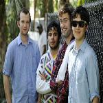 From left, Chris Baio, Rostam Batmanglij, Chris Tomson and Ezra Koenig of the band Vampire Weekend