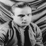 Portrait of Marlon Brando from the play