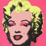 Andy Warhol painted several pictures of the actress Marilyn Monroe.