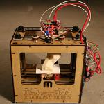 An assembled Makerbot product