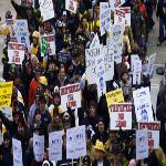 States Put Pressure on Public Unions